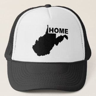 West Virginia Home Away From State Ball Cap Hat