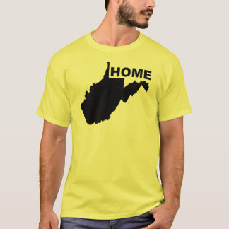 West Virginia Home Away From State T-Shirt Tees