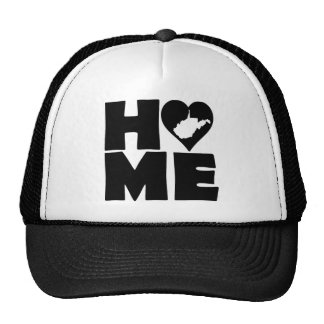 West Virginia Home Heart State Ball Cap Hat