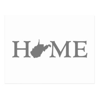 West Virginia Home State Postcard