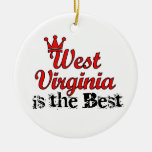 West Virginia is Best Ornaments