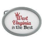 West Virginia is Best Oval Belt Buckle