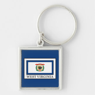 West Virginia Keychain