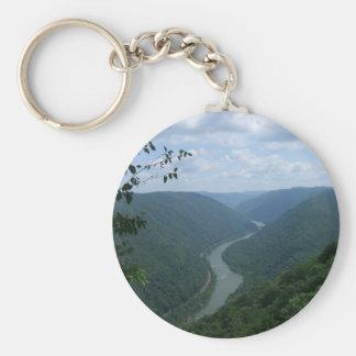 West Virginia Keychain