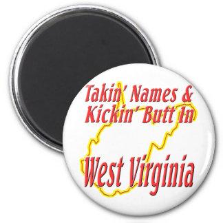 West Virginia - Kickin' Butt Magnet