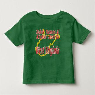 West Virginia - Kickin' Butt Toddler T-shirt