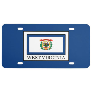 West Virginia License Plate
