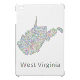 West Virginia map Case For The iPad Mini