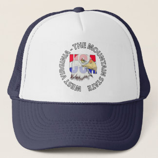 West Virginia Mountain State USA Hat