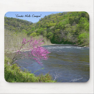 West Virginia mountains creek Mousepad