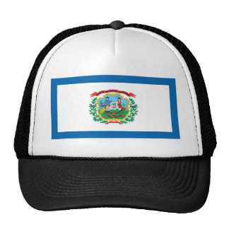 West Virginia  Official State Flag Trucker Hat