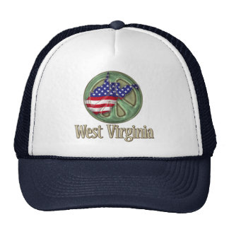 West Virginia Peace State - Hat