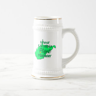 West Virginia Plant Manager Beer Stein