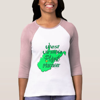 West Virginia Plant Manager Tee Shirts