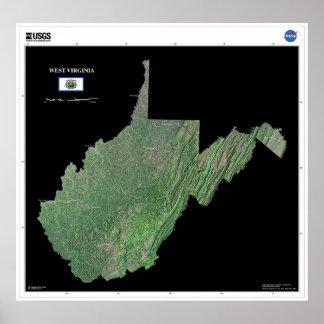 West Virginia Print