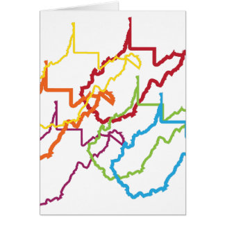 west virginia pride blur card