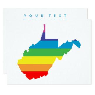 west virginia rainbow card