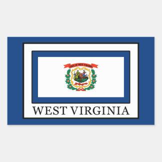 West Virginia Rectangular Sticker