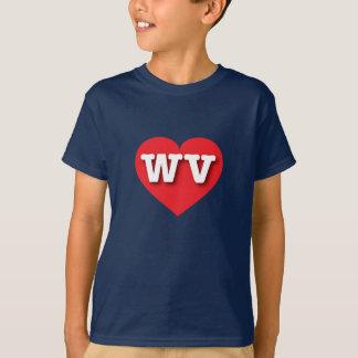 West Virginia red heart - Big Love T-Shirt