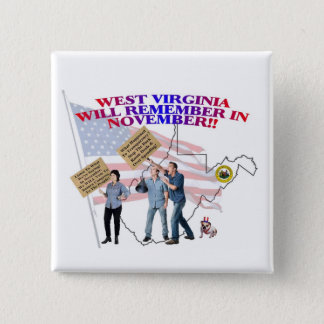 West Virginia - Return Congress to the People! Button
