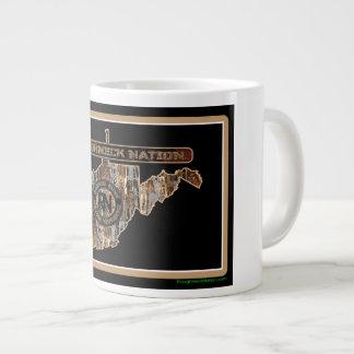 West Virginia Rig Up Camo Giant Coffee Mug