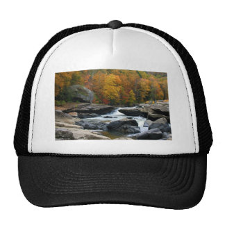 West Virginia River in the fall Trucker Hat