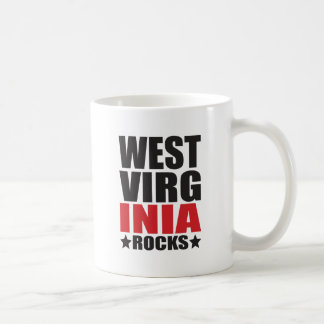 West Virginia Rocks! State Spirit Gifts and Appare Mug