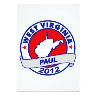 West Virginia Ron Paul Card