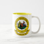 West Virginia Seal Two-Tone Coffee Mug