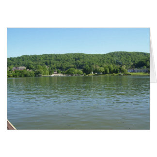 West Virginia shore line Ohio River Card