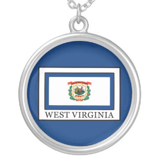 West Virginia Silver Plated Necklace