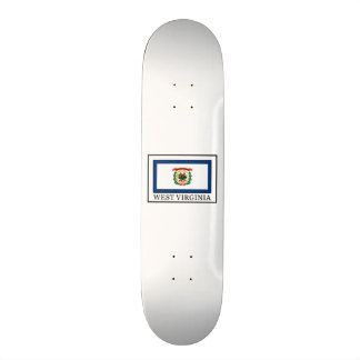 West Virginia Skateboard Deck