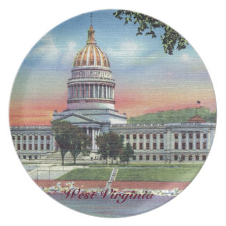 West Virginia State Capitol Plate