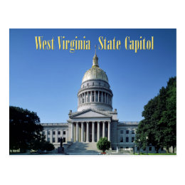 West Virginia State Capitol Postcard