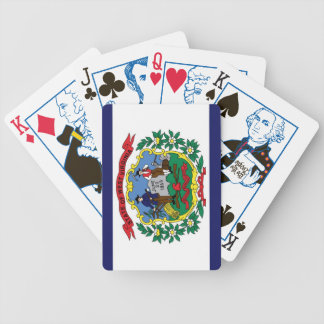West Virginia State Flag 1863 Playing Cards