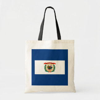 West Virginia State Flag Design Budget Tote Bag