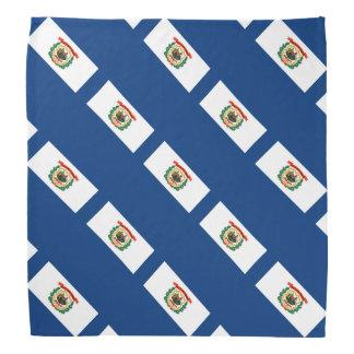 West Virginia State Flag Design Bandana