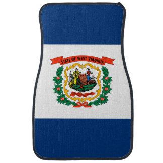 West Virginia State Flag Design Car Mat