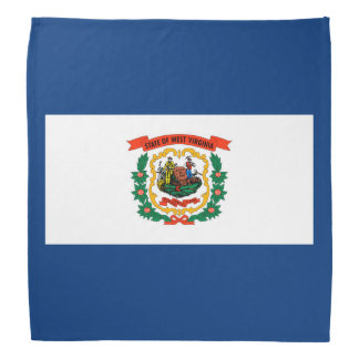 West Virginia State Flag Design Decor Bandana