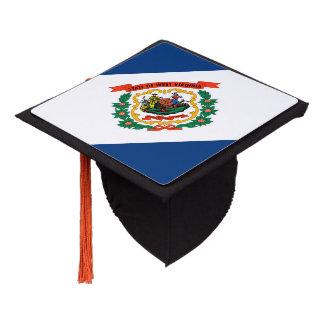 West Virginia State Flag Design Graduation Cap Topper