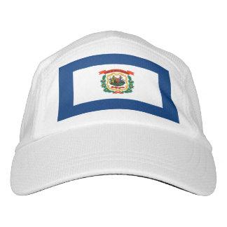 West Virginia State Flag Design Headsweats Hat