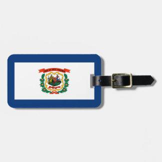 West Virginia State Flag Design Luggage Tag