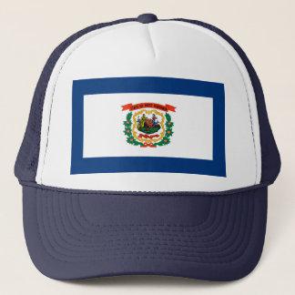 West Virginia State Flag Design Trucker Hat