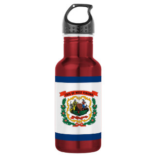 West Virginia State Flag Liberty Bottle