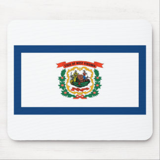 West Virginia State Flag Mouse Pad