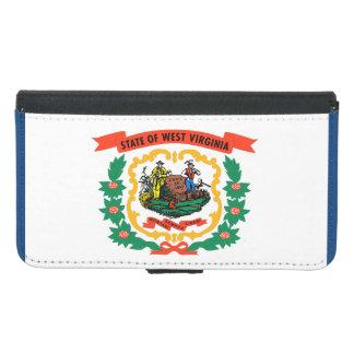 West Virginia State Flag Samsung Galaxy S5 Wallet Case