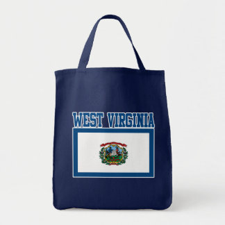 West Virginia State Flag Tote Bag
