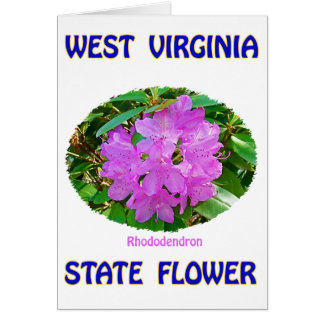 West Virginia State Flower T-Shirts & Gifts Card