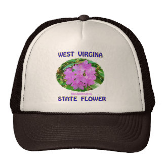 West Virginia State Flower T-Shirts & Gifts Trucker Hat