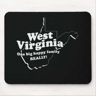 WEST VIRGINIA STATE MOTTO MOUSE PADS